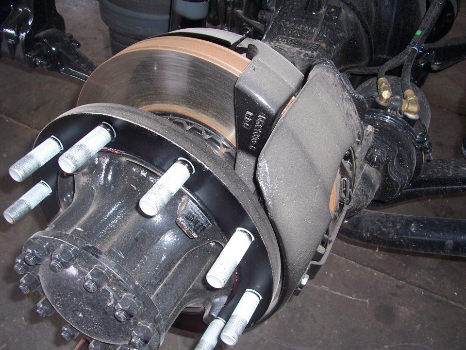 Truck repair air brake system